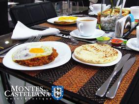 Montes de la Castellana Desayunos