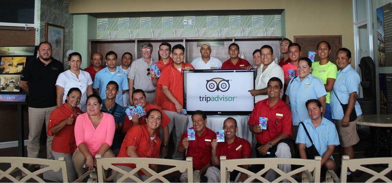 Staff del Hotel Costa Sur Puerto Vallarta