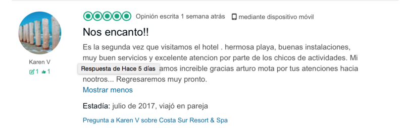 Reviews Tripadvisor Costa Sur Puerto Vallarta