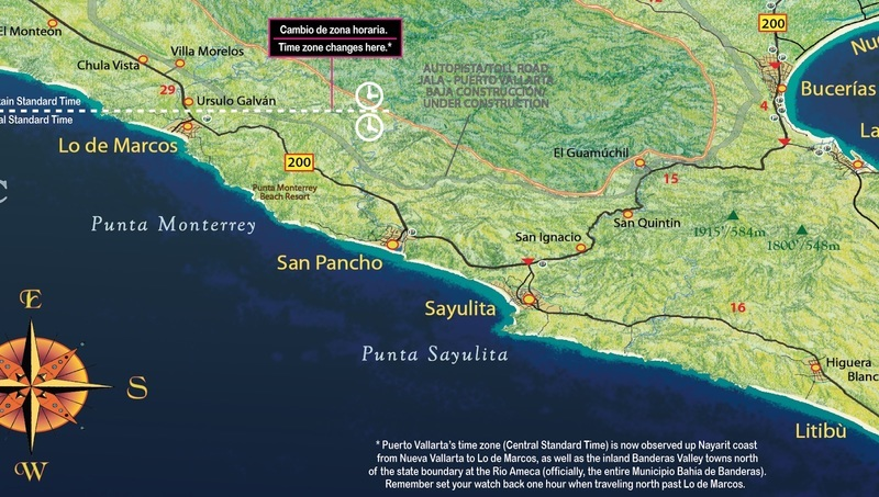 Puerto Vallarta World Map.Puerto Vallarta Maps