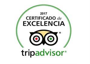 Excelencia Tripadvisor 2014-2015-2016-2017