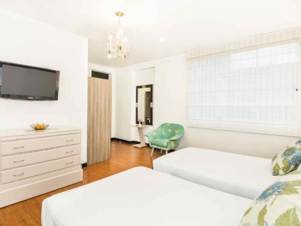 Chambre double lits jumeaux in Hotel Matisse
