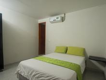 Habitación Sencilla Semidoble con Aire Acondicionado