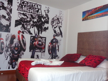 Habitación Doble   Capitán América