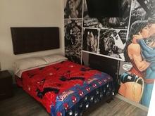 Habitación Romántica   Mujer Maravilla Y Superman