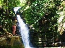 Antiguo Ferrocarril -cascada Santa Rita
