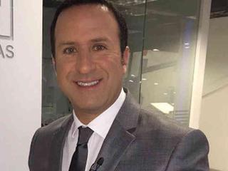 El Presentador Felipe Arias