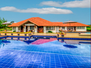 Brizantha Hotel Campestre desde el Aire