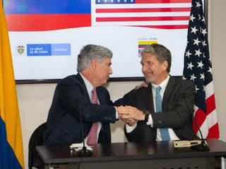 Embaja de EE.UU en Colombia