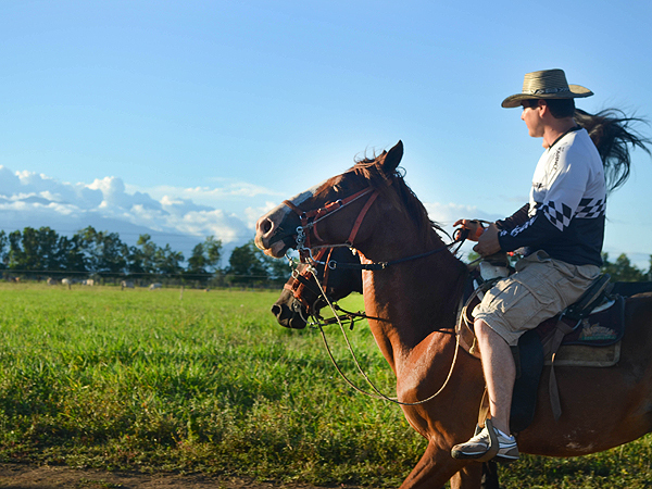 Horseback Riding in Tiuma Park