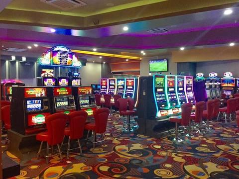 Hand slot machine emoji