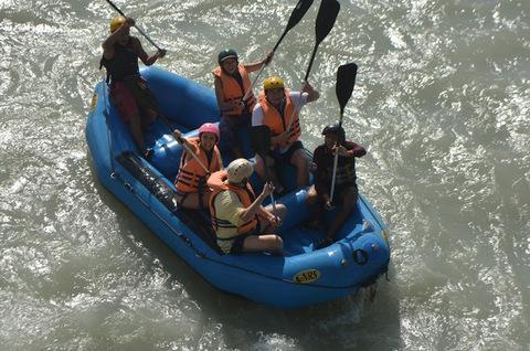 Plan Cascadas + Rafting