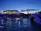 Hotel Campestre Kosta Azul - Piscina de noche