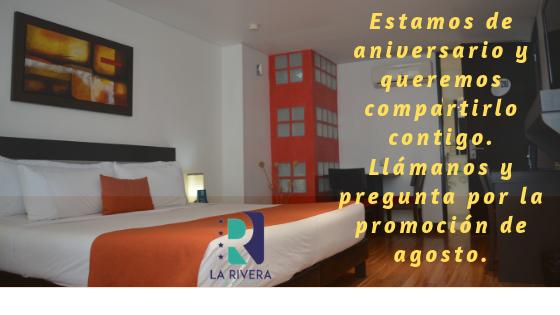 Aniversario Hotel La Rivera
