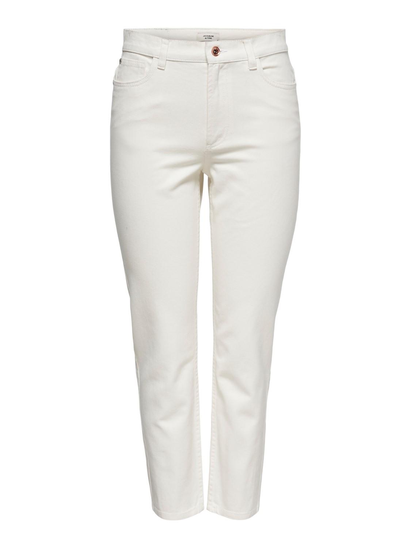 Jeans donna in cotone panna JDY   KAJA-15238423003