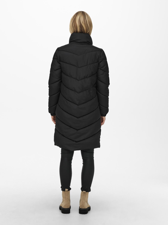 Piumino lungo donna con zip JDY | NEWFINNO-15237890005