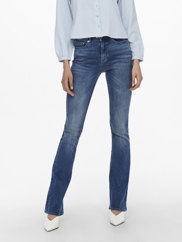 Jeans donna a zampa lunghezza 30 ONLY   PAOLA-15219219MBL30