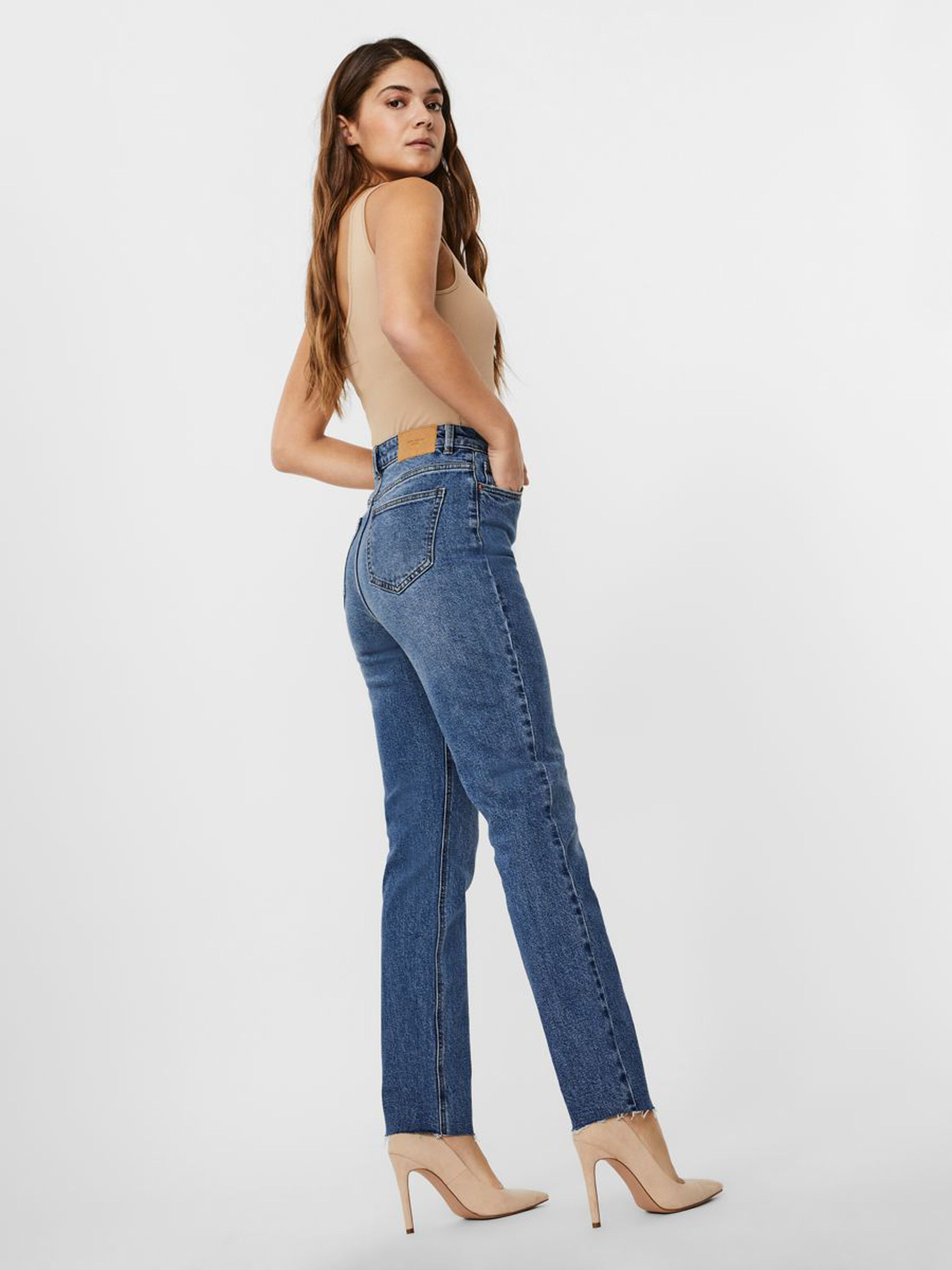 Jeans donna straight fit. VERO MODA | BRENDA-10248825385L32