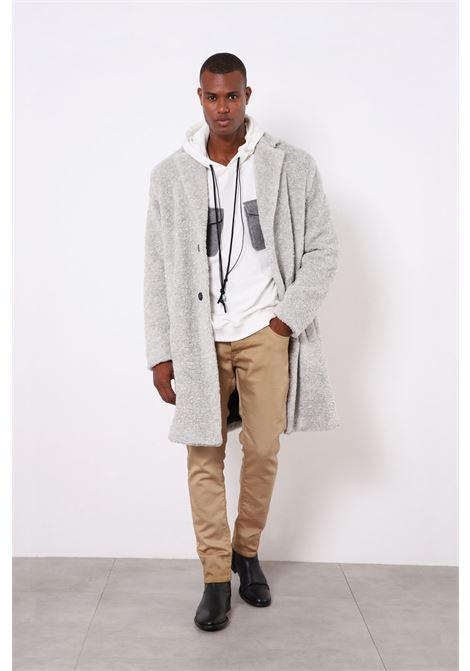 Cappotto uomo in lana bouclè IMPERIAL | K768CDN010