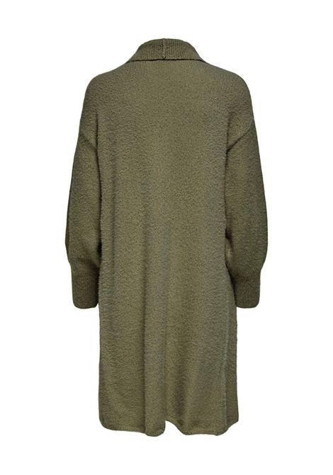 Cardigan da donna lungo verde JDY | ALESSI-15231346006