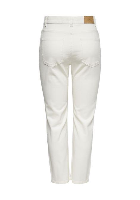 Jeans donna in cotone panna JDY | KAJA-15238423003