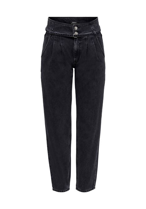 Jeans donna vita alta ONLY | LU-15235102BLKL32
