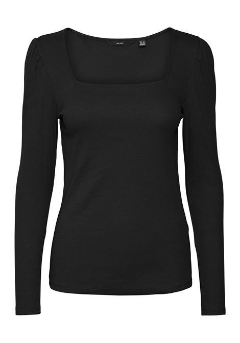 T-shirt donna maniche a sbuffo VERO MODA | NATASHA-10255383005