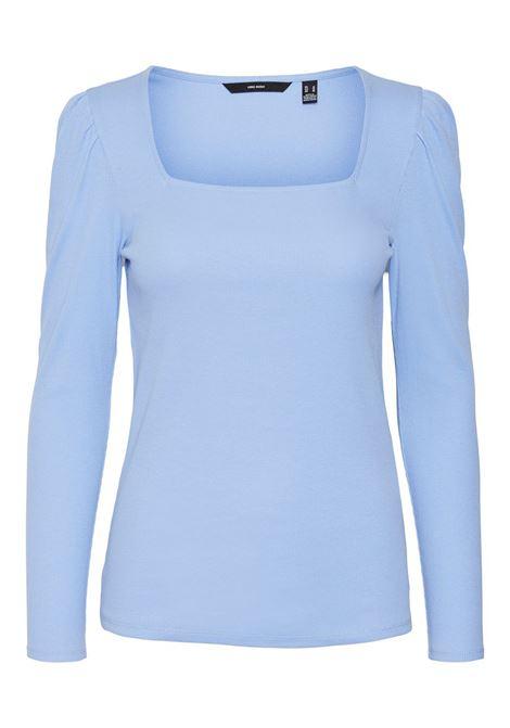 T-shirt donna maniche a sbuffo VERO MODA | NATASHA-10255383032