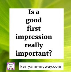 a blog needs to make a good first impression