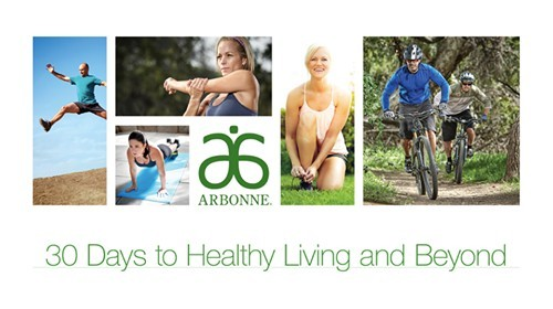 30 days to health living arbonne