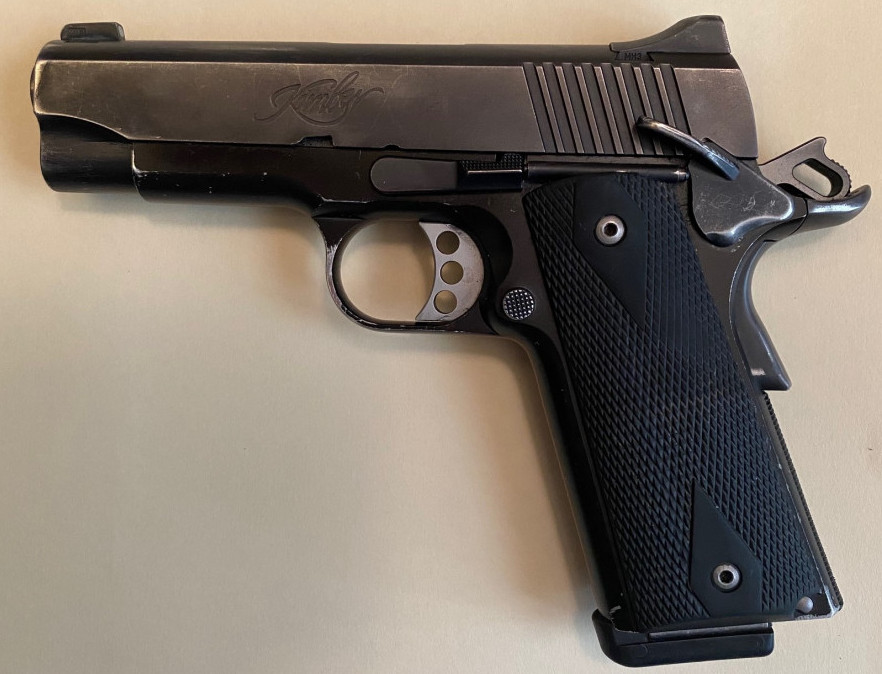 1911 Cocked and Locked