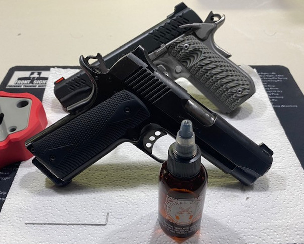 How to Lube a 1911 Pistol