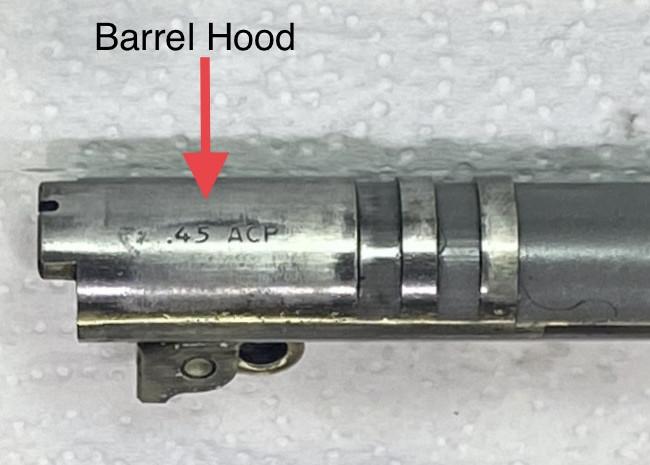 1911 Barrel hood