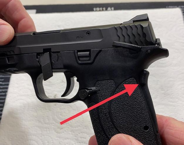 Shield EZ Grip Safety lever is stuck