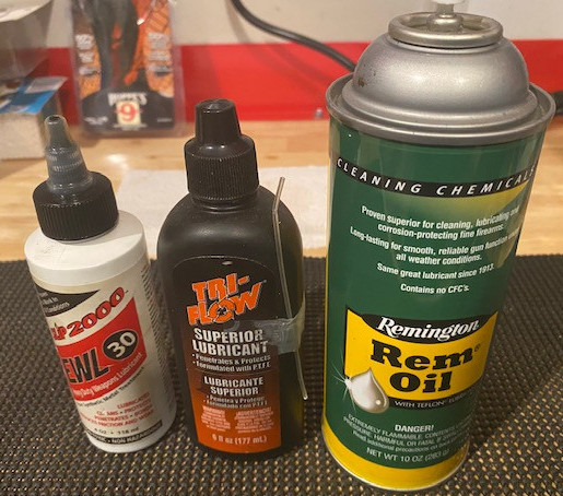Gun Oils and Lubricants