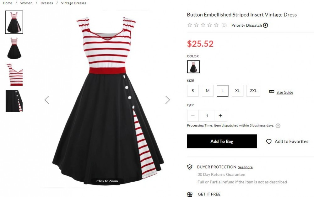 plus size sailor dress