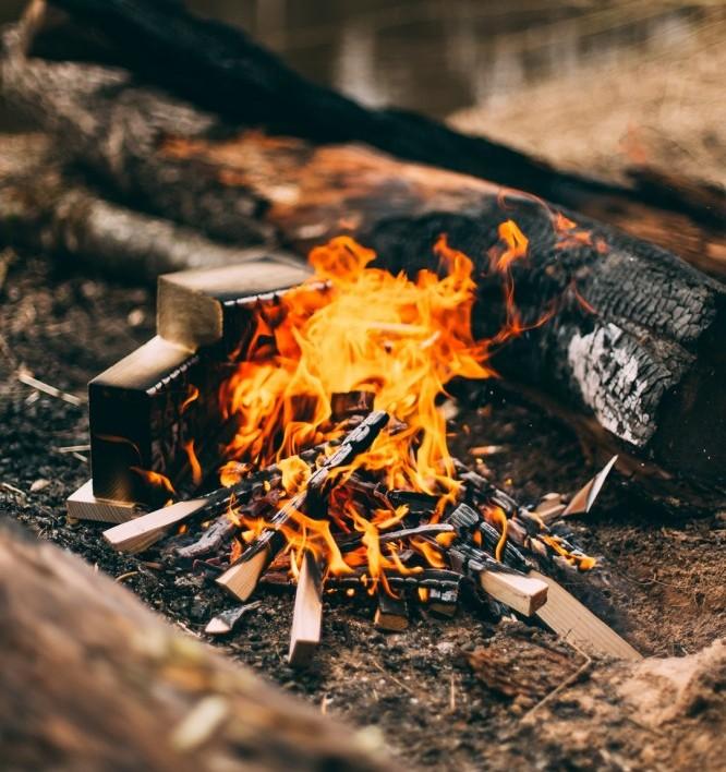 paleo caveman fire