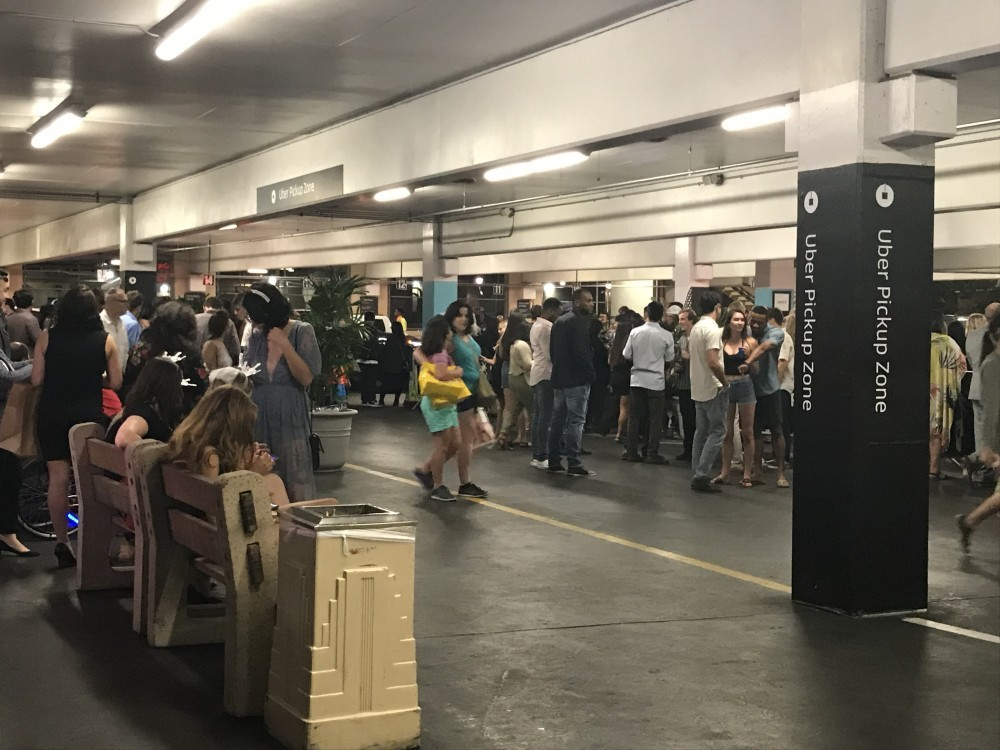MGM Grand Uber Pickup Zone