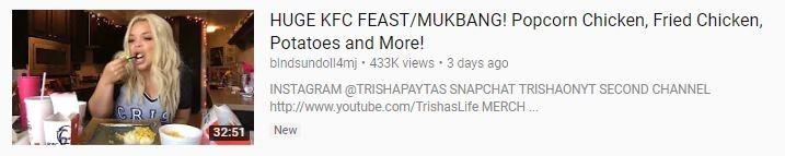 KFC-mukbang