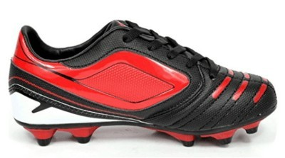 red black and white dream soccer cleats