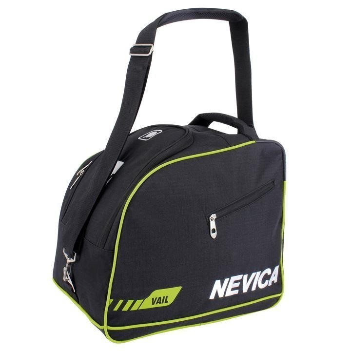 Black, yellow and white Navicia ski boot bag