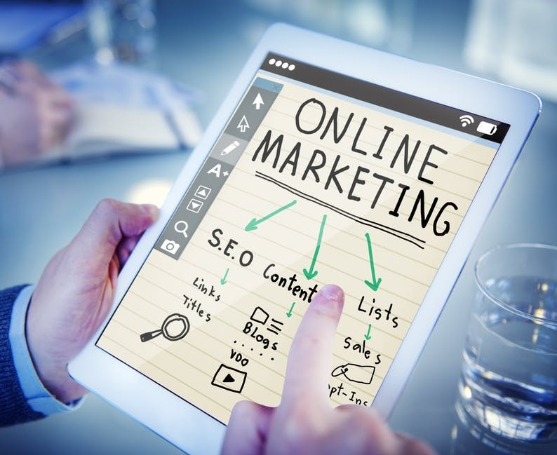 learning new online marketing