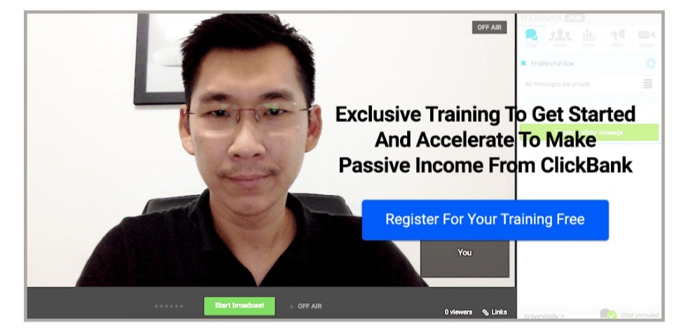 Screenshot of CB passive income creator Patrick Chan