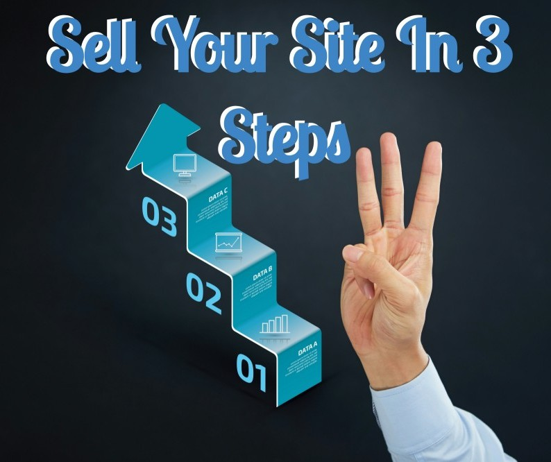 3 steps to sell your website