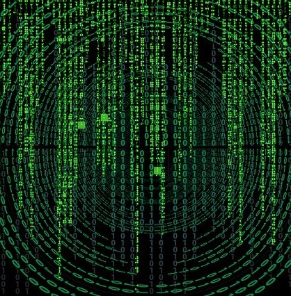 the matrix software code