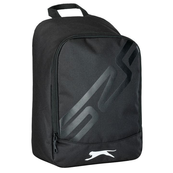 Black slazenger rugby boot bag
