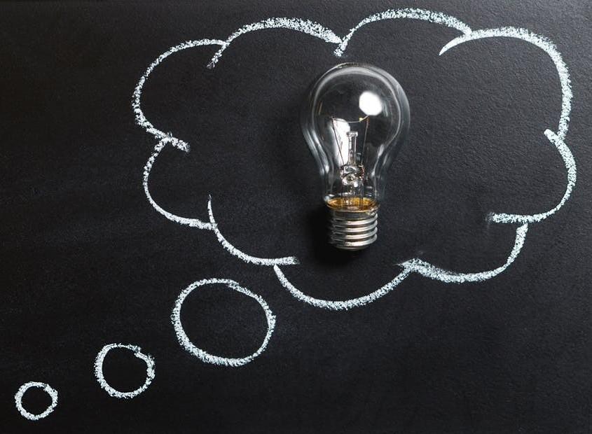 lightbulb thinking
