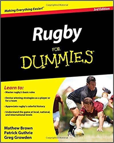 Rugby For Dummies Coaching Book