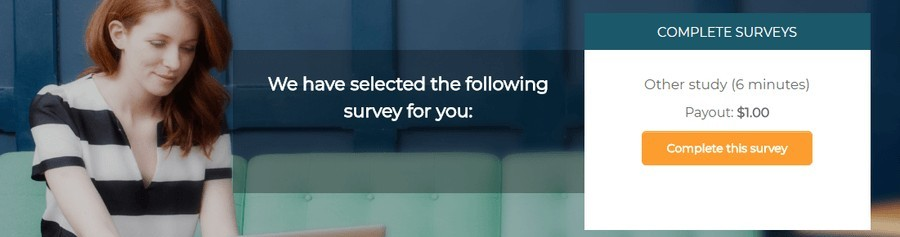 take the selected survey