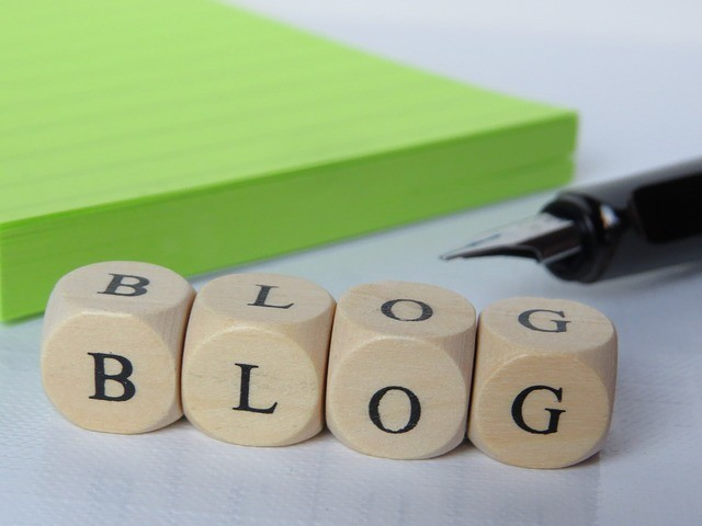 blogging to promote your website